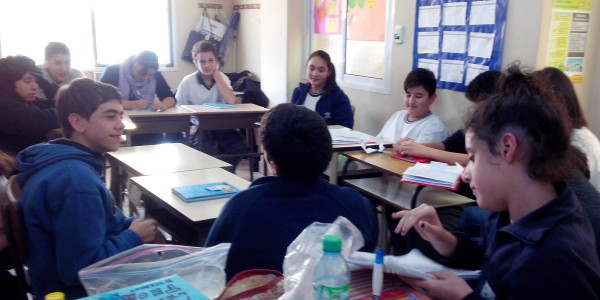 Taller de Habilidades Sociales con la Prof. Vanesa