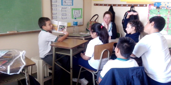Taller de Literatura y Cuentos con la Prof. Cecilia
