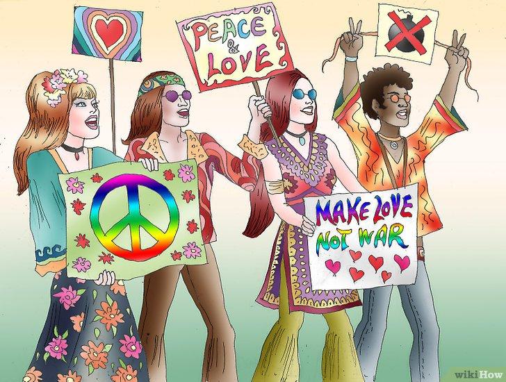 La Contracultura Hippie 4ºB
