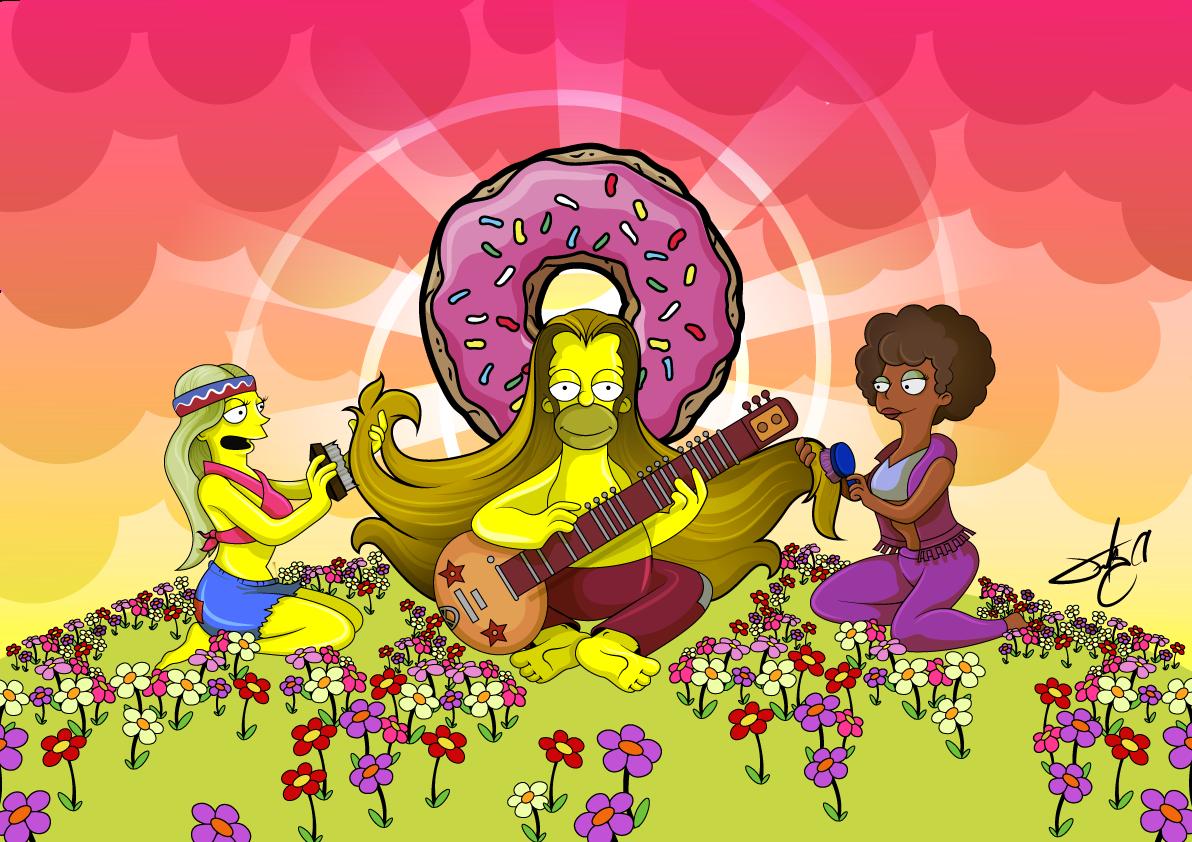 La Contracultura Hippie 4ºA