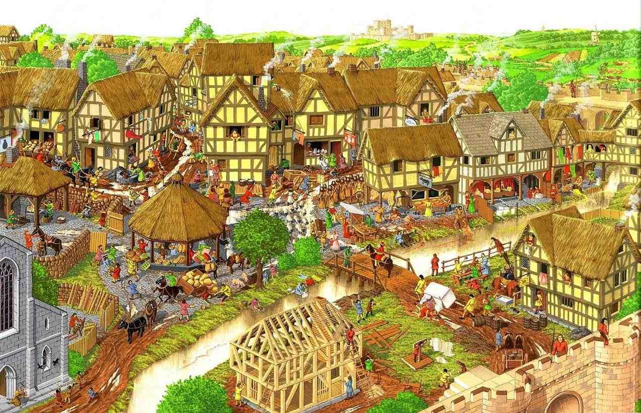 Aldeas medievales – Informática